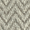 100% undyed 3 ply wool chunly weave Coastal Ripple - Driftwood