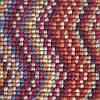 100% 3ply wool loop Deco Zigzag - Kingston