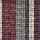 Hammersmith stair runner 100% wool corded loop whipped finish - Euston