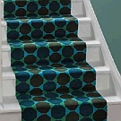 Lucienne Day 80/20 woven stair runner - Octagons