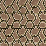 Quirky  B designer 80/20 woven wilton chainmail col Venetial