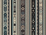 Woven stair runner Tri be Egalite by Divine Savages