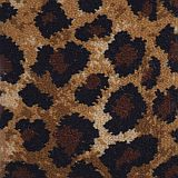 leopard print safari woven axminster carpet