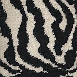 zebra print - safari woven axminster carpet