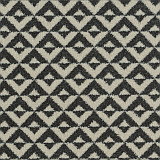 Zoffany stain resistant  carpet design Clio - Bone Black