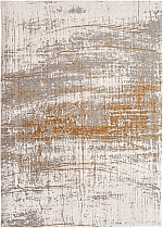Jacquard woven rug Mad Men Griff Columbus Gold
