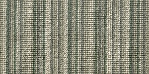 100% 3ply wool loop Deco Stripe - Greenwich