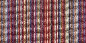 100% 3ply wool loop Deco Stripe - Kingston