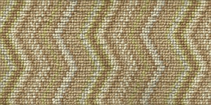 100% 3ply wool loop Deco Zigzag - Kensington