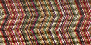 100% 3ply wool loop Deco Zigzag - Notting Hill