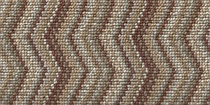 100% 3ply wool loop Deco Zigzag - Richmond