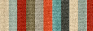 Margo Selby Stripe 100% wool loop Frolic Windbreak 1920