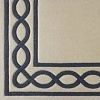 Chain  100% wool Ultimate handcarved inlaid  border design