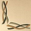 Flow  100% wool Ultimate handcarved inlaid  border design